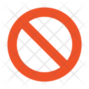 Ban Block Cancel Icon