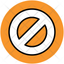 Ban Forbidden Sign Icon