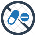 Ban Drugs Forbidden Icon