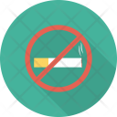 Ban Cigarette Forbidden Icon