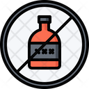 Ban Alcohol Icon