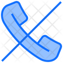 Ban Call Mute Call Icon