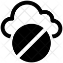 Cloud Hide Block Icon