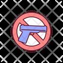 Ban Guns Icon