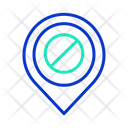 Ban Location Icon
