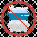 Plastic No Box Icon