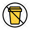 Notallowed Stop Garbage Icon