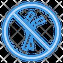 Ban Plastic Straw Icon
