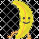 Banana Fruit Healthy Icon