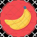 Banana Fruit Nutritious Icon