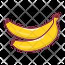 Banana Fruit Food Icon