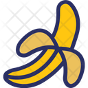 Banana Food Fruit Icon