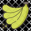 Banana Bananas Fruit Icon