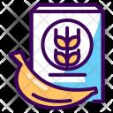 Banana Diet Potassium Icon