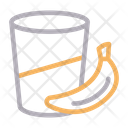 Juice Drink Banana Icon