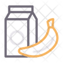 Juice Banana Fruit Icon