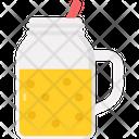 Banana Smoothie Creamy Beverage Icon