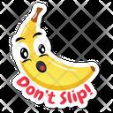 Banana Sticker Icon
