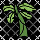 Banana Tree Tree Green Icon