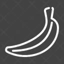 Bananas Banana Fruit Icon