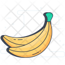 Banana Fibre Fruit Fruit Icon