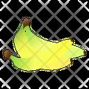 Bananas Fruit Organic Icon