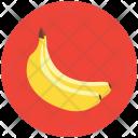Bananas Fruit Healthy Icon