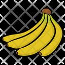 Bunch Of Bananas Bananas Fruit Icon