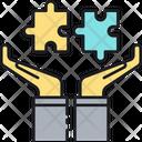 Bancassurance Jigsaw Puzzel Icon