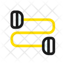 Band Elastic Strength Icon