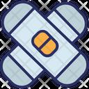 Band Aid Bandage Medical Care Icon