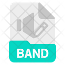 Band File Document Icon