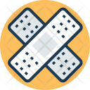 Wound Band Aid Icon