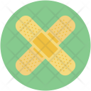 Bandage Firstaid Treatment Icon