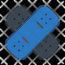 Bandage Injured Plaster Icon