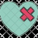 Bandage Breakup Broken Heart Icon