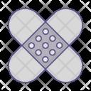 Patch Aid Bandage Icon