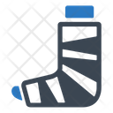 Bandage Injury Leg Icon