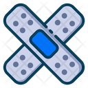 Medical Healthy Bandage Icon