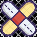 Bandage Medical Treatment Icon