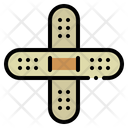 Plaster Bandage Tools Icon