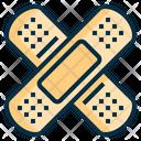 Bandage Adhesive Plaster Icon