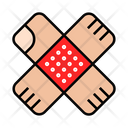 Bandage Aid Plaster Icon