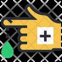 Bandage Finger Injury Icon