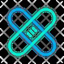 Bandage Health Healthcare Icon