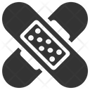 Aid Band Bandage Icon