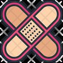 Bandage Medical Plaster Icon