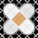 Plaster Bandage Patch Icon