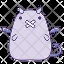 Bandage Mouth Sticker Icon