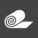 Bandage Roll Treatment Icon